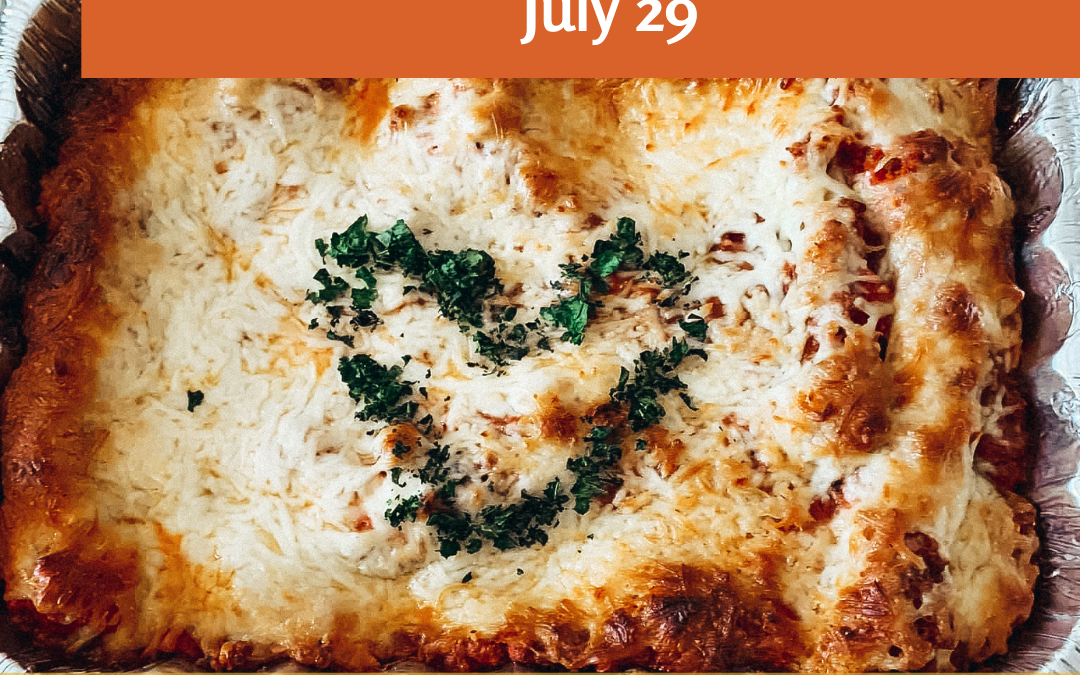 Lasagna Love Attempts Record Breaking 100,000 Lasagna Delivery  In Celebration Of National Lasagna Day
