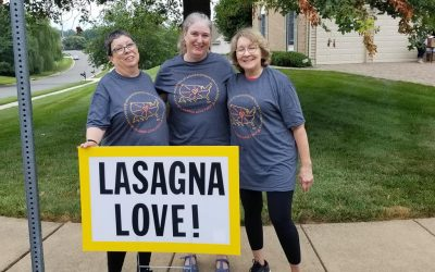 Lasagna Love exceeds goal and delivers over 6,000 lasagnas for National Lasagna Day!